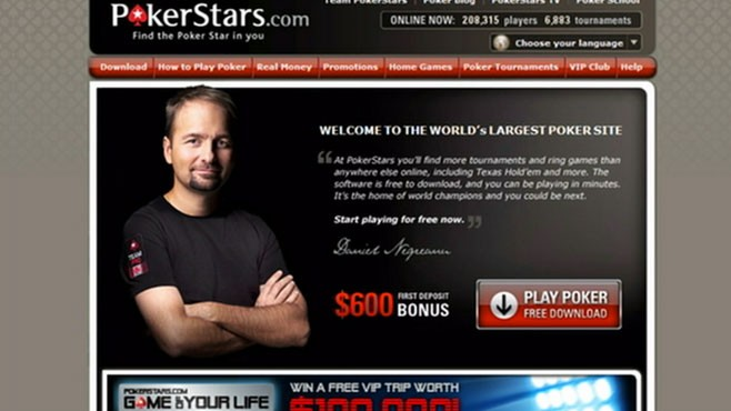 VIDEO: FBI Shuts Down Gambling Websites