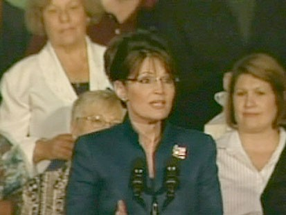 A picture of Sarah Palin.