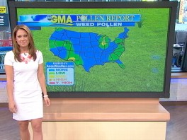 VIDEO: GMA Pollen Report: Monday May 27, 2013