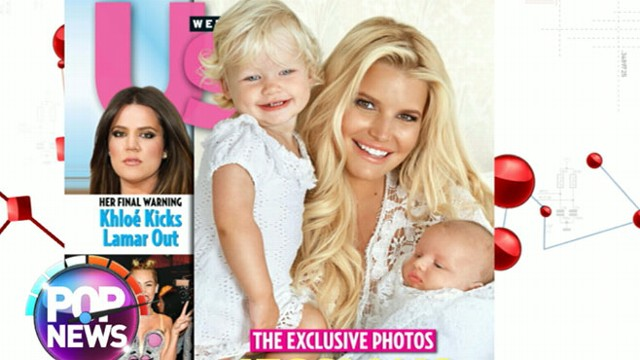 VIDEO: First Pictures of Jessica Simpsons Son Ace Knute