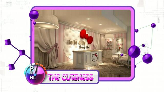 Hello kitty beauty spa opens in dubai video abc news for Abc beauty salon