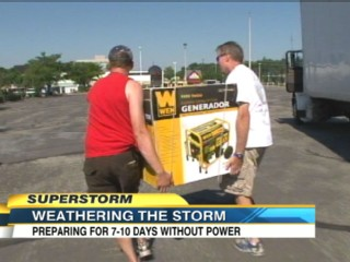 Watch: Widespread Power Outages Expected: How to Keep the Lights On