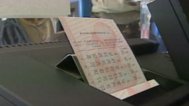 VIDEO: The winning ticket matched all five numbers, including the Powerball to win the j
