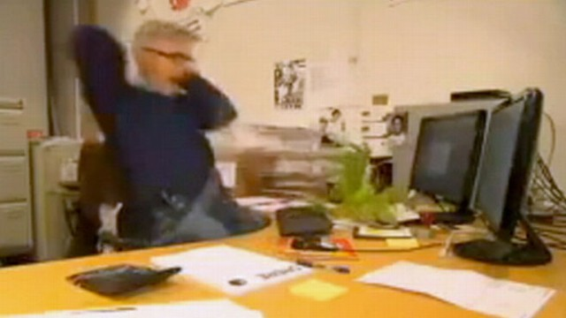 VIDEO: Norwegian Man Falls Prey to Coworkers' Pranks