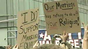 VIDEO: Californias Supreme Court is set to rule on the validity of the gay marriage ban.