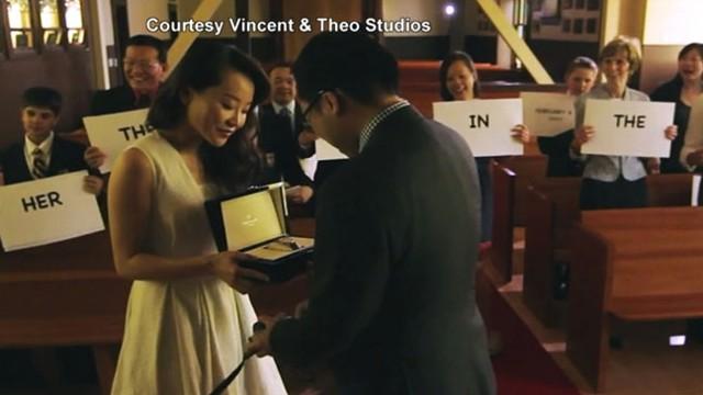 VIDEO: Woman Attempts Surprise Proposal