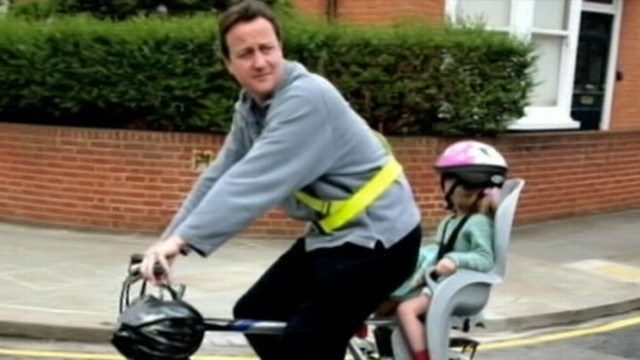 VIDEO: U.K. Prime Minister had driven two miles before realizing his child was missing.