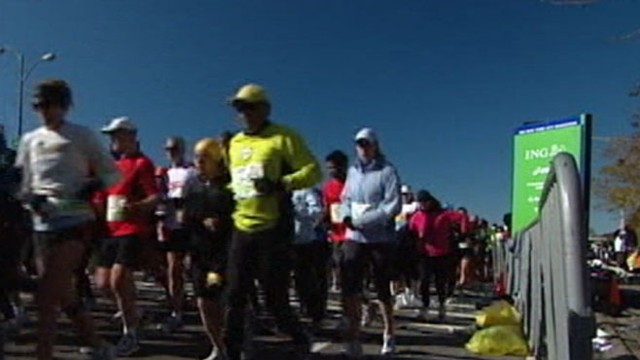 VIDEO: John Muller reports the cancelation of the most popular marathon in the world.