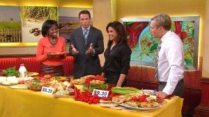 VIDEO: Rachael Ray The TV chef prepares meals for a family of four for less than 10.