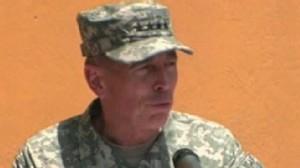 VIDEO: Gen. Petraeus takes command in Afghanistan