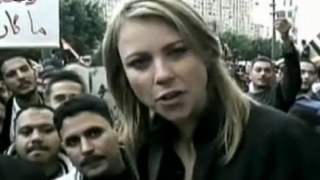 lara logan assault cell phone video. VIDEO: CBS News#39; Lara Logan