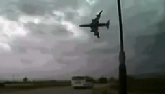 VIDEO: It is believed that cargo came loose causing the 747 to go down shortly after takeoff.