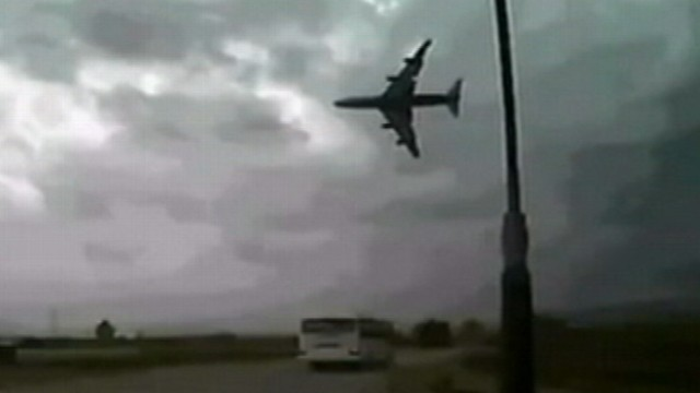 Video: Afghanistan Plane Crash Caught on Tape
