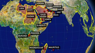 US Embassies Closed Yemen Embassy Evacuated Amid Terror Threat - Us embassy in yemen map