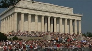 VIDEO: Glenn Beck and Al Sharpton Host Rallies in D.C.