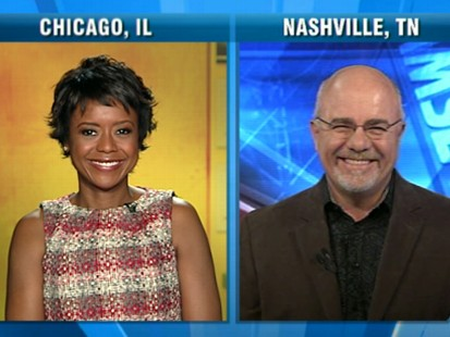 VIDEO: Finance experts Dave Ramsey and Mellody Hobson say stay the course.
