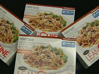 A picture of Lean Cuisine boxes.