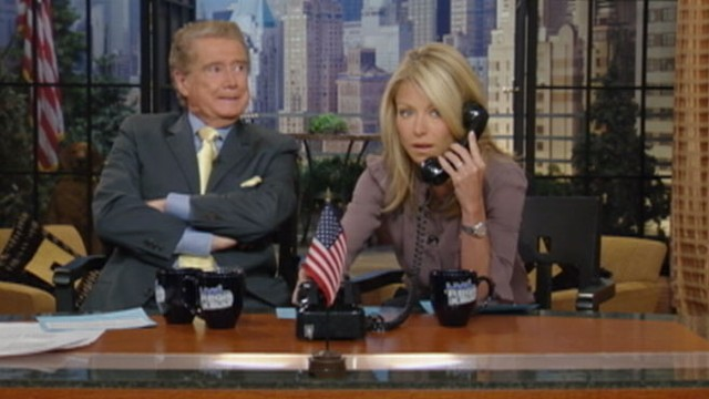 VIDEO: Who would ever hang up on Regis?
