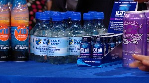 """VIDEO: Relaxation drinks aim to help you """"unwind from the grind,"""" but do they work?"""