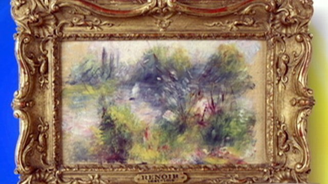 VIDEO: Flea-Market Found Renoir Now Thought Stolen