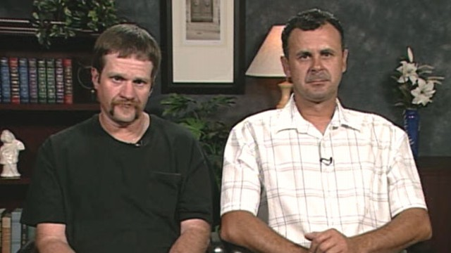 VIDEO: Construction workers Lee Christensen and Albin Mocevic ran to help crash victim.