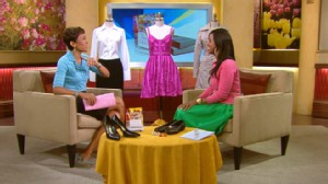 VIDEO: Author and bargain shopper Daisy Lewellyn offers style tips from her new book.
