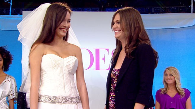 Good Morning America Beauty Tips : Good morning america announces the winner of brides