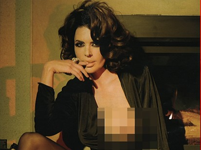 VIDEO: TV show host and actress Lisa Rinna poses nude for Playboy next month.