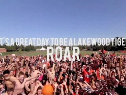 VIDEO: Over 2,000 students showed off their school spirit lip syncing to Perrys hit song