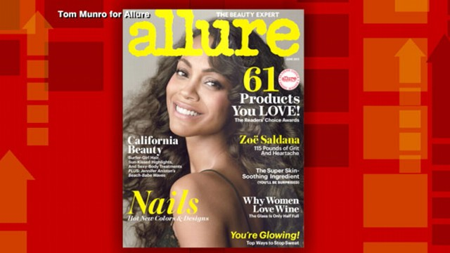 Video: Magazine Under Fire for Zoe Saldana Weight Headline