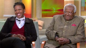 VIDEO: The archbishop and his daughter, the Rev. Mpho Tutu, discuss their new book.