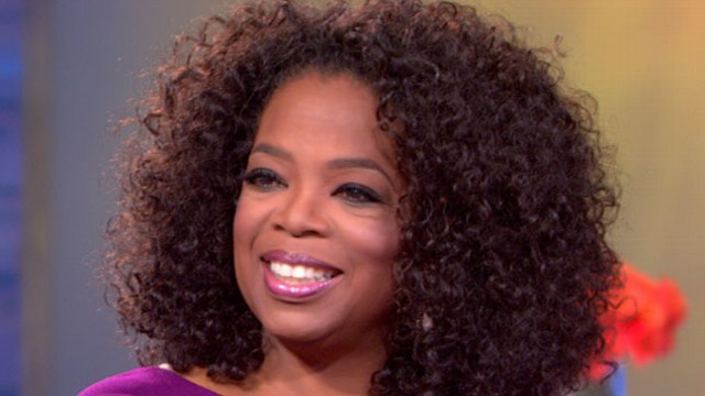 VIDEO: Queen of TV discusses her role in the true story of a slave-turned-White House butler.