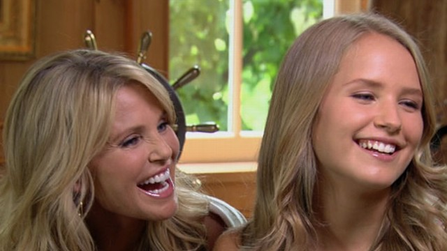 VIDEO: Sailor Cook joins her supermodel mother Christie Brinkley in discussing her budding career.