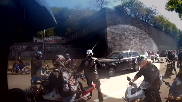 Bikers In Nyc Road Rage Family Says Biker Hit in Road
