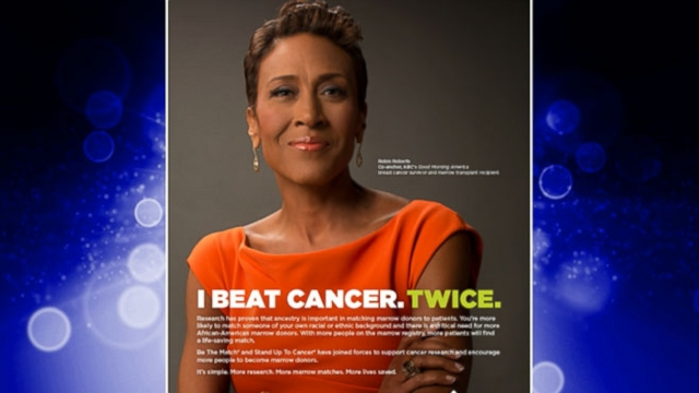 VIDEO: Robin Robert New PSA for Be the Match, Stand Up to Cancer