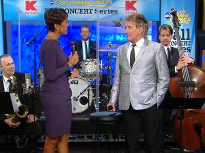 VIDEO: Rod Stewart talks about his album of chart-topping renditions of classic hits.