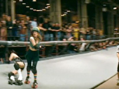 "VIDEO: New Drew Barrymore movie, ""Whip It,"" highlights the latest roller derby craze."