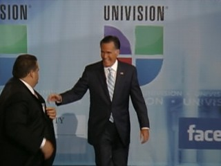 Watch: Mitt Romney Faces Tough Questions in Univision Interview