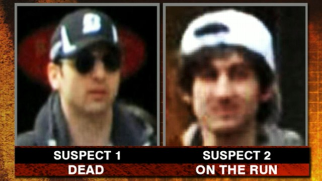 Video: Boston Suspect on Run Identified as Dzhokhar Tsarnaev
