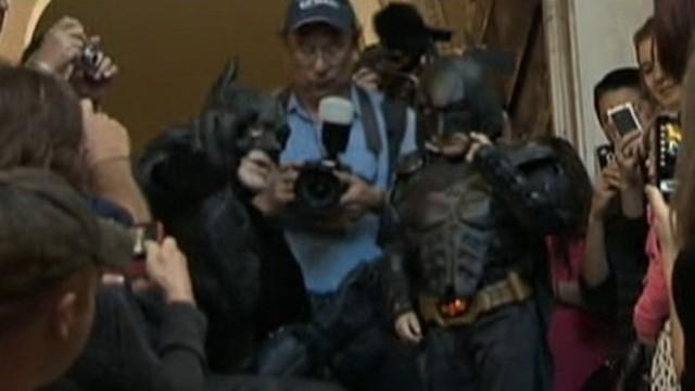 Video: Make-A-Wish Makes Kid's Batman Dreams Come True
