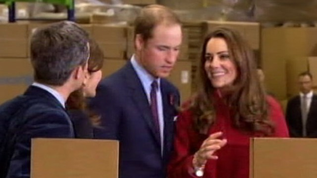 VIDEO: The Duchess of Cambridge was spotted at one of her chosen charities.