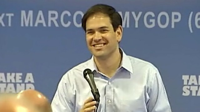 VIDEO: Florida senator apparently not being considered for Mitt Romneys running mate.