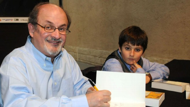 VIDEO: Salman Rushdie received death threats for a previous book.