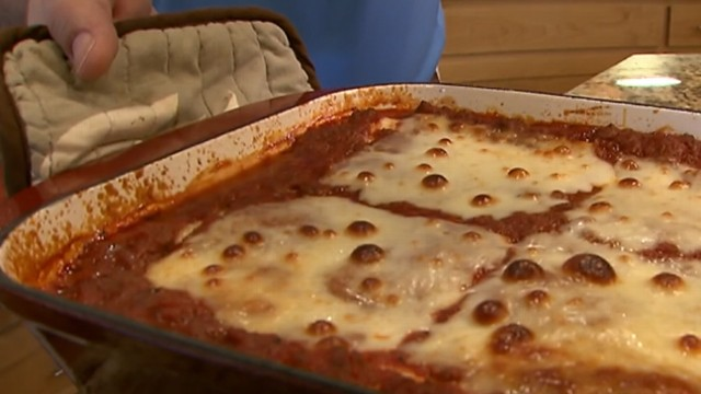 World s best lasagna recipe taste test video abc news