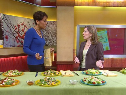 VIDEO: ShopSmarts Lisa Lee Freeman reveals her top picks for fast-food salads.