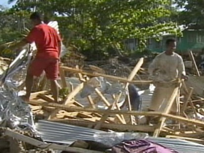 VIDEO: Two earthquakes hit Indonesia as death toll from Samoas tsunami rises.