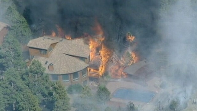 VIDEO: Colorado Wildfires Destroy Hundreds of Homes