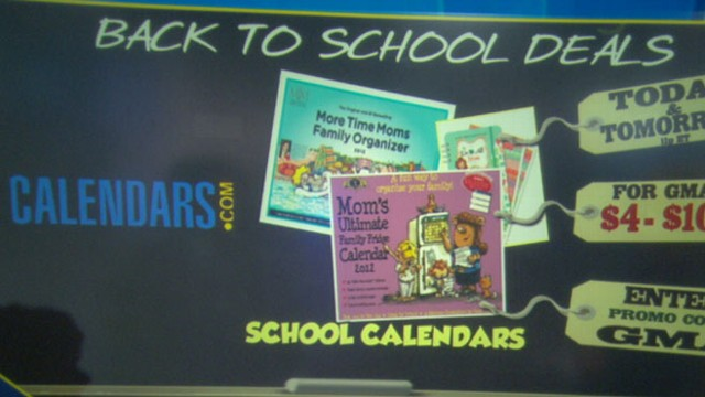 VIDEO: Tory Johnson offers parents tips for finding low-cost school supplies.