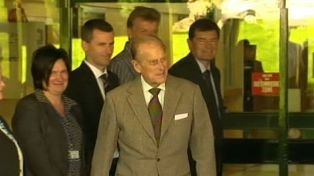 Video: Queen Elizabeths Husband to Turn 92 in Hospital