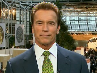 VIDEO: Schwarzenegger Focuses on Climate Talks